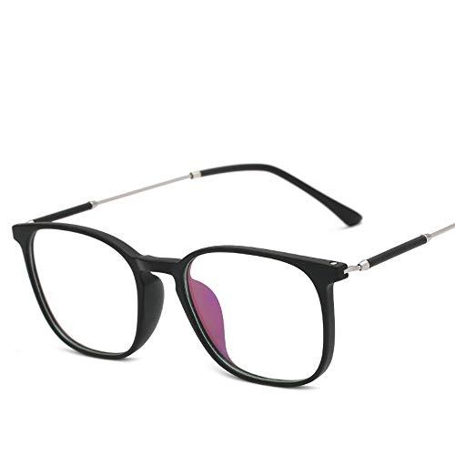 XCYQ Brillengestell Frauen Brillengestell Transparente Linsen Brillengestell Vintage Eyewear Spectacle Frame, B