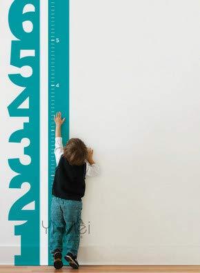 wassaw Dekoration Wachstum Chart Zahlen Tapete Kinder Vinyl Aufkleber Baby Room Decorating Kinderzimmer Wandaufkleber