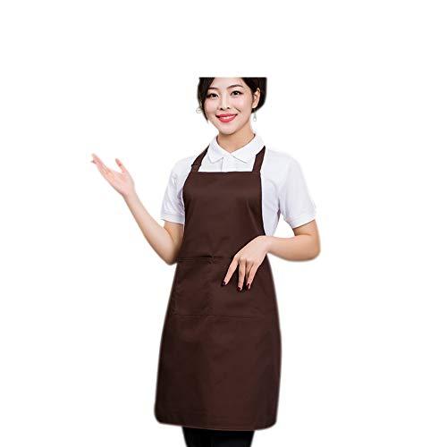 Laat - Delantal unisex cocina sin mangas cafetería