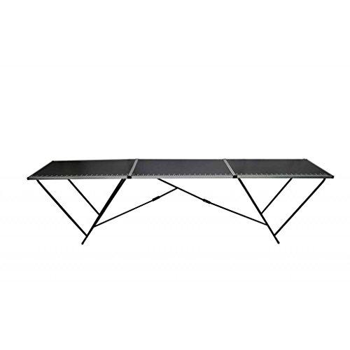 Festnight Table à tapissier en Aluminium et en Acier