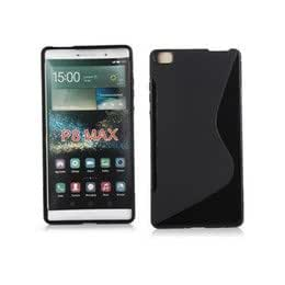 Honor P8 Maxx Magic Brand S-Line Black Soft Silicon Back Cover Case