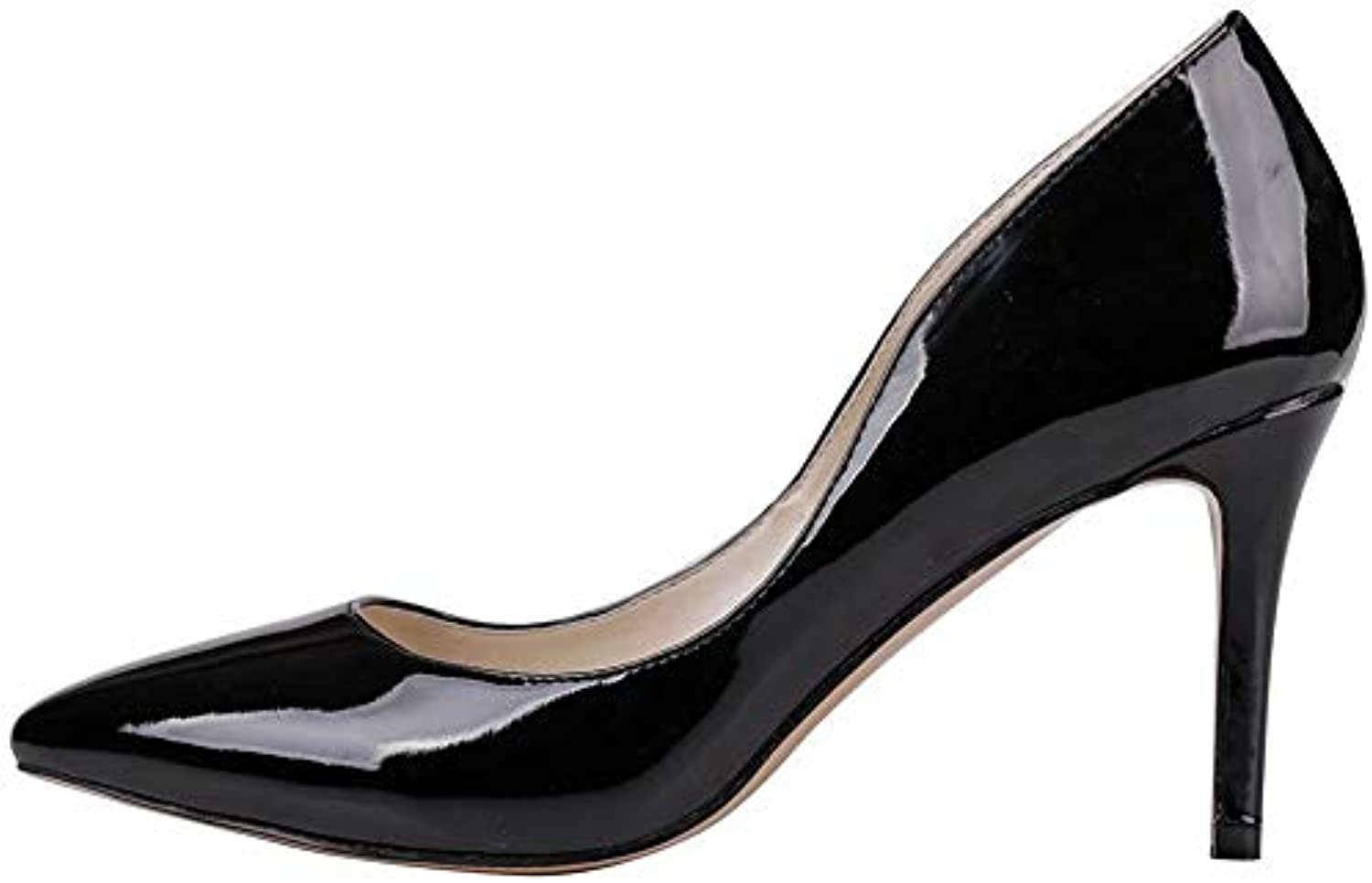 DoraTasia ,  s Compensées Femme - EUB07GB3N1DHParent Noir - 2 Black(Patent Leather), 36.5 EUB07GB3N1DHParent - 77e252
