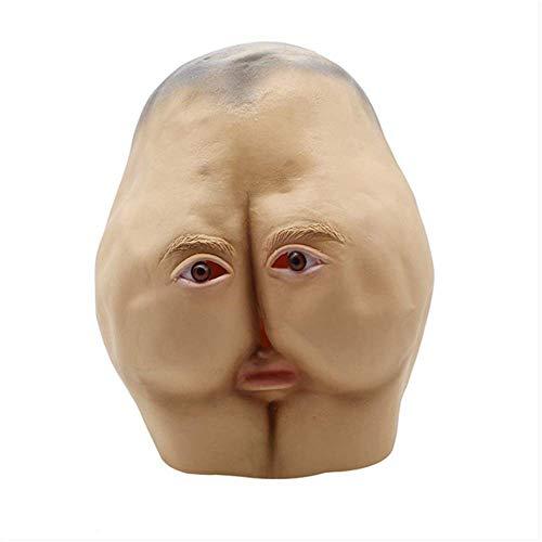 Best Adult Kostüm Funny - DDSTAR Halloween Kostüm Party Latex Animal Terror Maske Human SkeletonOne Größe Neuheit Funny Unisex-Adult