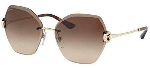Bulgari Damen 0Bv6105B 278/13 62 Sonnenbrille, Gold (Brown),