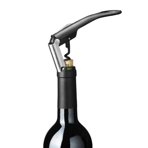 Menu 4620539 Enjoy Water & Wine Blade Kellnermesser, schwarz