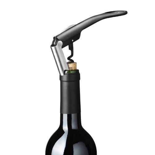 Menu 4620539 Enjoy Water & Wine Blade Kellnermesser, schwarz