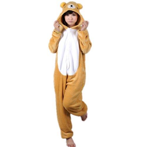 SHINA-Nuevos-Unisex-Onesie-animales-sudaderas-Traje-de-dormir-pijamas-Porter-PJ-20-S-oso