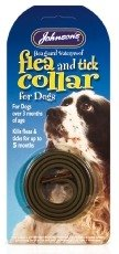 Johnson's Waterproof Flea Collar for Dogs (Size: Standard) by Johnsons