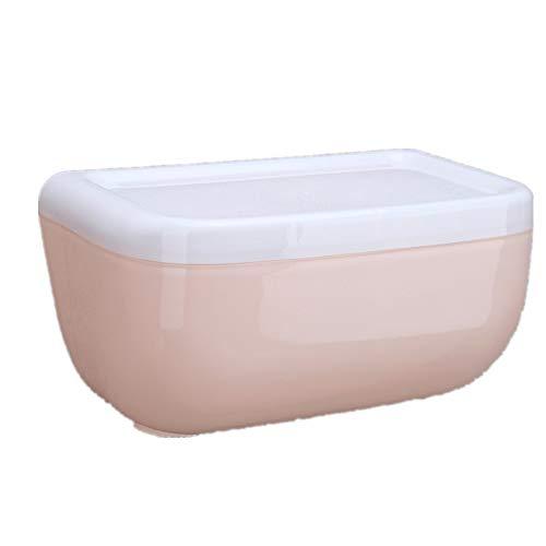 rdichte Haushaltspapier Rolle Tablett kreative Toilette Papier Rack Toilettenpapier, Starke Tragfähigkeit, praktisch und schön, langlebig,Pink ()