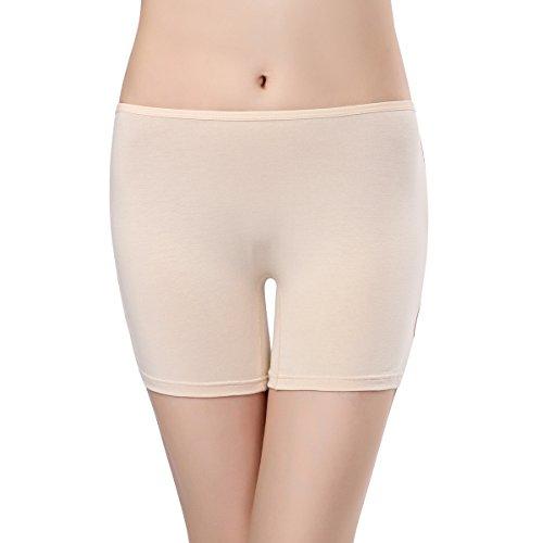 Wirarpa Damen Boxershorts Cotton Micromodal 3er Pack Microfaser Panties Unterhose Mehrfarbig