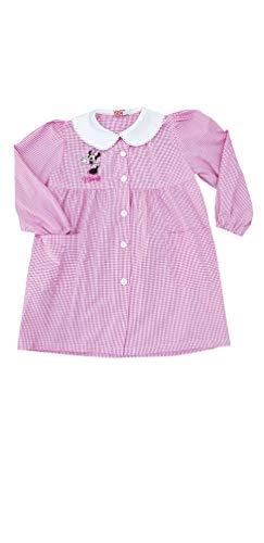 Disney grembiule minnie scuola materna quadri rosa asilo per bambina (art.aa951005) (quadri rosa, 70-7 anni)