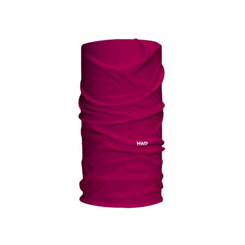 HAD Head Accessoires Solid Colours Funktionstuch, Berry, one size -