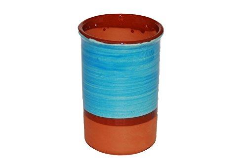 Spanischen Stil Weinkühler Keramik (hellblau)