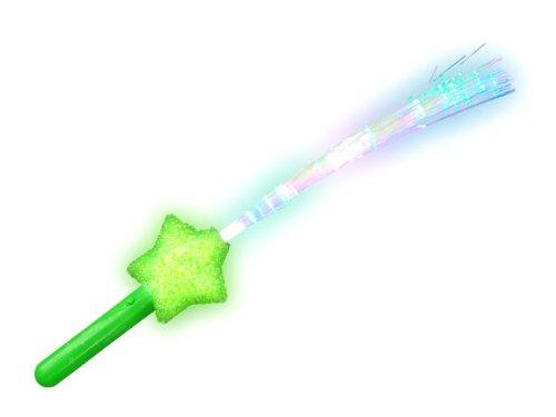 flashlight-blinkstabe-leuchtstab-stern-mit-glasfaser-alle-farben-farbe-wahlengrun
