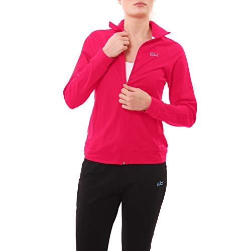 Damen Tennis/Fitness/Sport Trainingsjacke, pink, Gr. XL ()