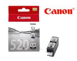 Original Tintenpatrone Canon PGI-520 schwarz, OEM: 2932B001 mit 19ml pigmentierter Tinte für 324 Seiten u.a. für Canon Pixma MP 640 R, IP 4600 X, MX 870