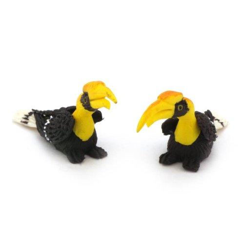 MyTinyWorld 2 Handmade Maison De Poupées Miniature Calaos avec Jaune Bec