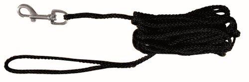 Trixie 19771 Schleppleine, Nylon, 15 m/5 mm, schwarz