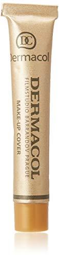 Dermacol DC - Make-up Cover - Fond de teint Haute couvrance Résistant à l'eau SPF30, Beige olive foncé 223, 30 g