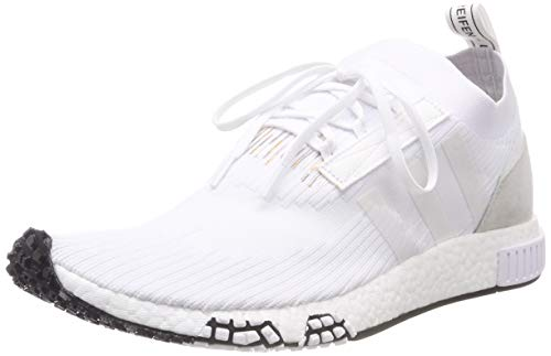 adidas Herren NMD_Racer Pk Derbys Mehrfarbig (White Ftwwht), 44 2/3 EU