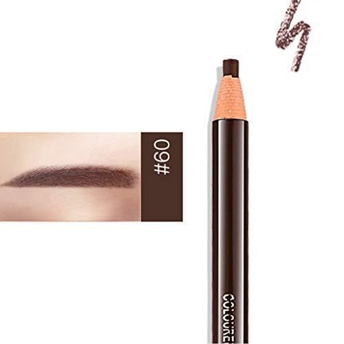 Crayon à Sourcils,Crayon de maquillage crayon cosmétique,Pro étanche lisse Maquillage Longue Durée sourcils crayon (C)