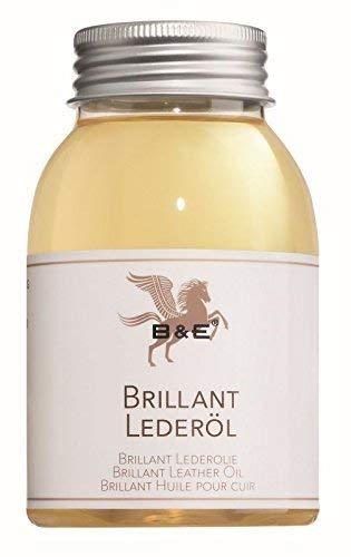 B & E - Brillant Lederöl - 250 ml - Premium Lederpflege von Glattleder