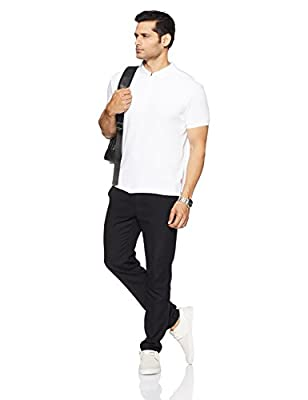Levis Men's Plain Regular Fit Polo
