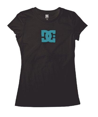DC Star T-shirt pour femme femme SS Women's S/S Fine Jersey, bajabl/WHT Noir - BLACK/SEA