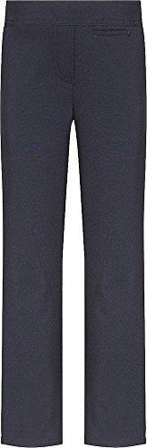 Marine-blau-uniform Hose (Mädchen Schulanfang Uniform gerades Bein Junior Regular Fit Hosen - Marine, 9-10 Years)