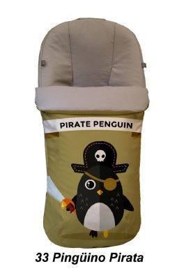 Saco silla universal Pingüino Pirata