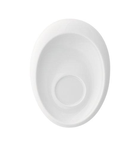 Kahla - Porcelaine pour les Sens 363502A90036C Tao Sous-Tasse à Expresso Blanc 13 cm