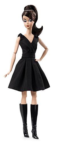 Barbie Mattel DWF53 - Fashion Model Collection Puppe im Cocktailkleid, schwarz