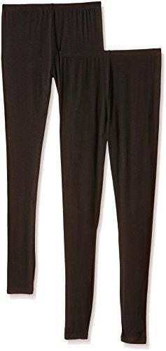 New Look 2 Pack Viscose Leggings Mutande, Donna, Nero, 38