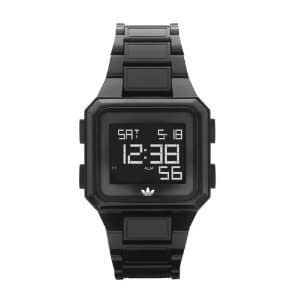 Adidas Black Digital Gents 5 ATM Date Alarm Lap Plastic Strap Watch ADH4501