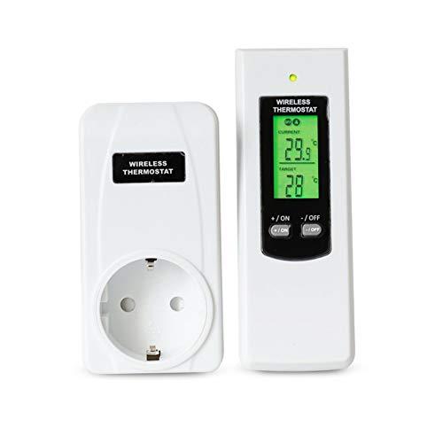 Kit idroponico termostato plug wireless per telecomando Celect crc30f kit Regolatore di temperatura wireless RF kit