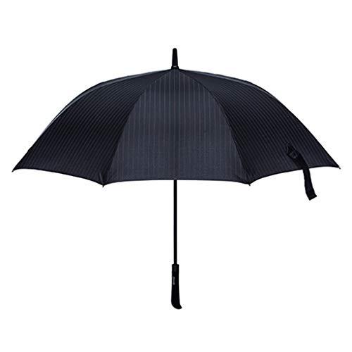 GFF Long Handle Umbrella Business Übergroße Windbeständigkeit Straight Bar Doppelverstärkung Sunny Rain Doppelschirm (Farbe: A)