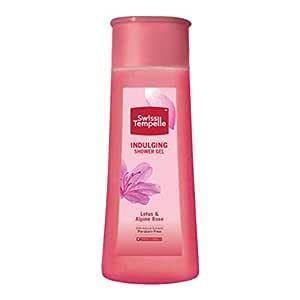 Swiss Tempelle Shower Gel - Indulging, Lotus & Alpine Rose, 250 ml