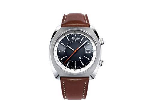 Alpina Geneve Startimer Pilot Heritage Automatic GMT AL-555DGS4H6 Reloj Automático para Hombres