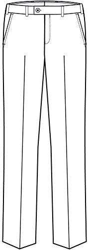 GREIFF -  Pantaloni da abito  - Uomo Blu marino