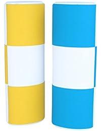 Étui magique/Logic/Change Blanc Medium Longue Bicolore