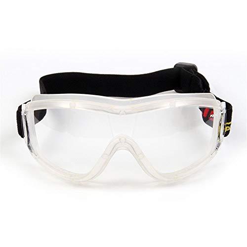 Preisvergleich Produktbild KOMNY Reitbrille Professionelle Kinderbrillen Outdoor-Sport-Schutzbrille staubdicht Sand-Beweis stoßfest spritzwassergeschützte Anti-Fog-Reiten Brille Motorrad-Brille schwarzen,  G