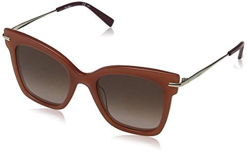 Max Mara Damen MM NEEDLE IV HA L7Q 49 Sonnenbrille, ORANGE/BRWN SF