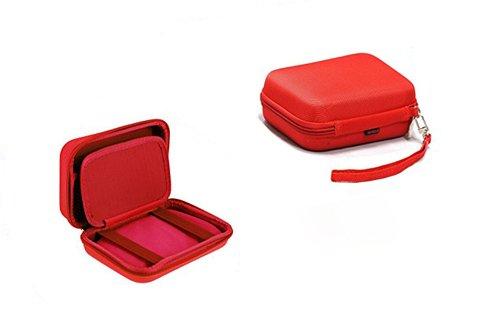 Preisvergleich Produktbild Navitech rot Gehäuse für WD / Western Digital My Passport Wireless 2 TB