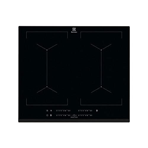Electrolux EIV644 Einbauplatte mit Induktionsfeld, Schwarz - Platten (integriert, Platte mit Induktion, Glas, Schwarz, 2300 W, rechteckig) -