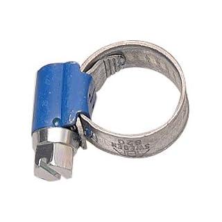 Aparoli 841445 Original ABA - Schlauchschelle, 10-16 mm, Schneckengewinde, Bandbreite 9 mm, VE: 10 Stück, blau