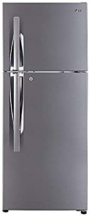 LG 260 L 3 Star Frost Free Double Door Refrigerator(GL-I292RPZL, Shiny Steel, Smart Inverter Compressor)
