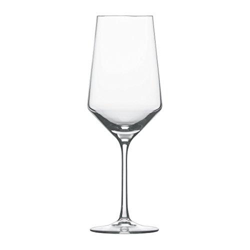 Schott Zwiesel 7544403 Pure Coffret de 6 Verres à Vin Cristal Transparent 68 cl