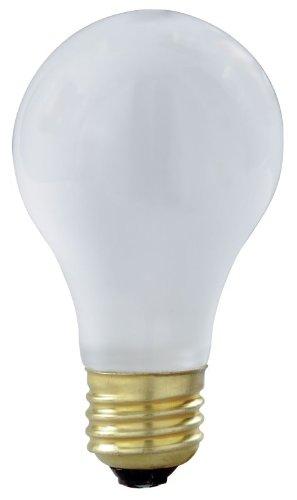 Frosted Satco-glühlampe (75Watt A19Rough Service Glühbirne Heavy Duty Light, matt, Medium, Boden, frosted 75.0 wattsW)