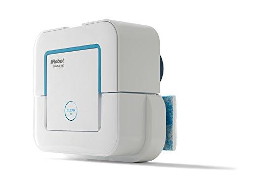 iRobot Braava Jet 240   Robot mopa para cocinas  baños y otros pequeños espacios  color blanco