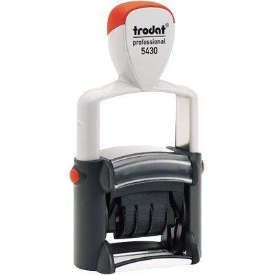 Trodat TR3200 Datario Autoinchiostrante Professional con Testo Commerciale 5430/L